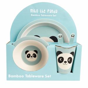 Vaisselle bambou enfant