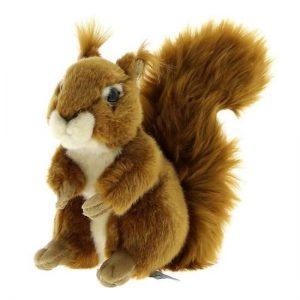Peluche ecureuil anima