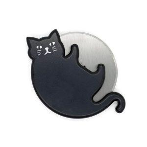 Roulette à pizza chat