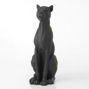Statue panthère noire gm