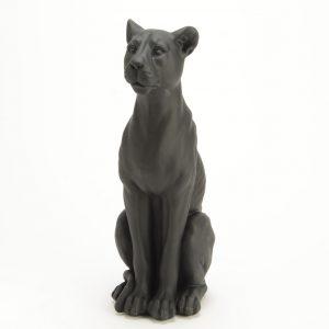 Statuette panthère noire