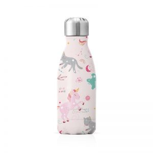 Bouteille isotherme rose fille