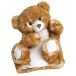 peluche marionnette histoire d'ours