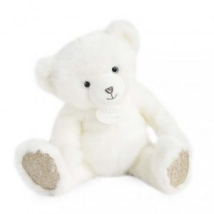 ours collection doudou blanc