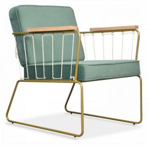fauteuil cabanette vert thym