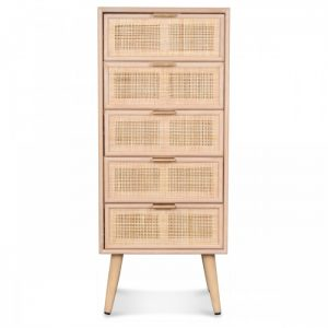 meuble semainier 5 tiroirs
