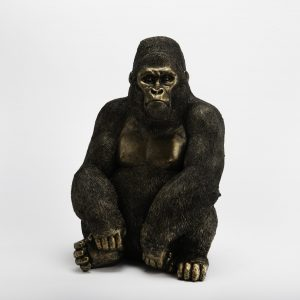 statue gorille à poser