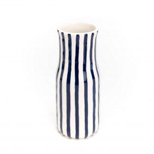 vase bleu et blanc