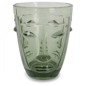 verres visage vert